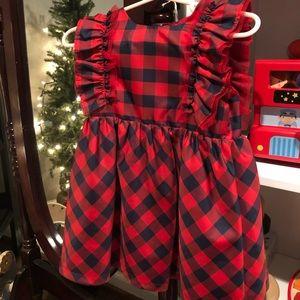 Cat & Jack Plaid Dress
